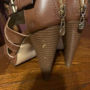 Guess strappy heels